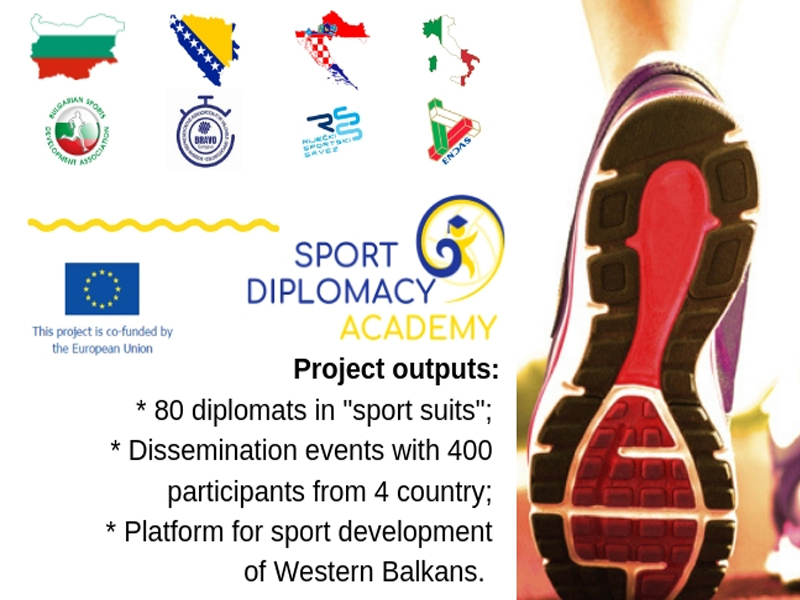 "Selection Results for ""Sport Diplomacy Academy"" in Sofia, Sarajevo, Rijeka and Rome"