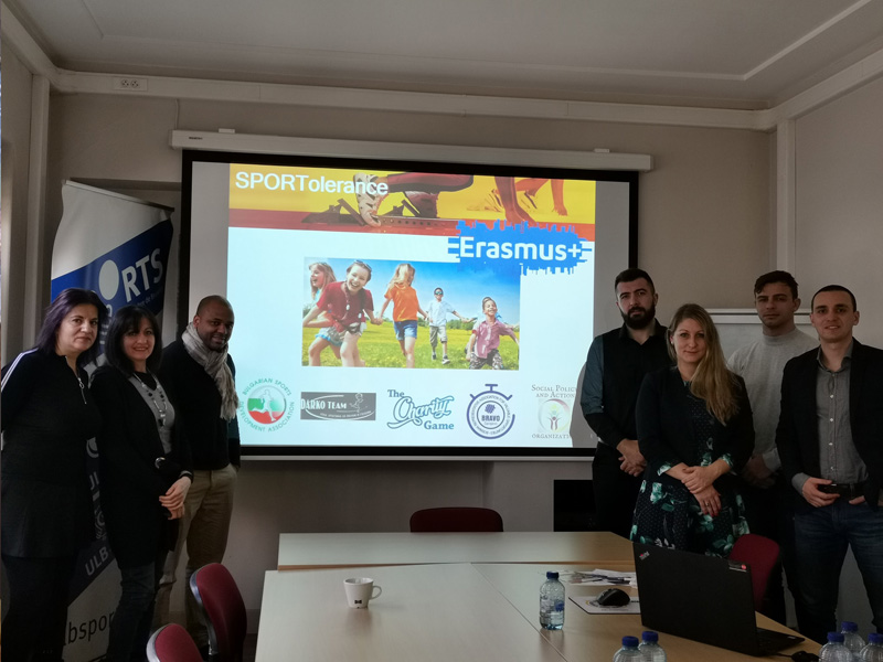 #SPORTolerance – Erasmus plus program (Sport Chapter) – Brussels 2020