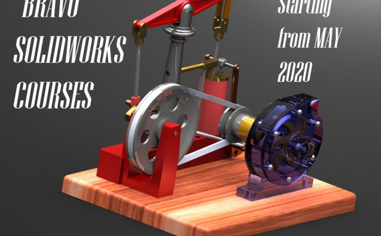 "BRAVO ONLINE BASIC  COURSES OF ""SOLIDWORKS"""