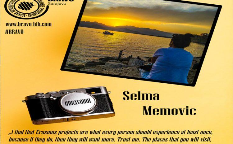 Selma Memović – my BRAVO story