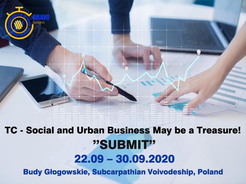 "OPEN CALL for 5 PARTICIPANTS for TRAINING COURSE ""SUBMIT!"" in POLAND"