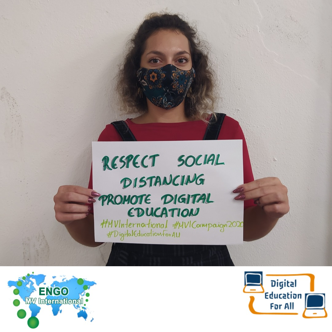 """MV International has launched the Social Campaign """"Digital Education For All"""""""