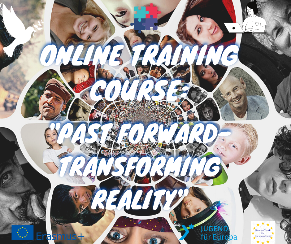 """Open call for participants for Online Training Course: """"Past forward- transforming reality"""""""