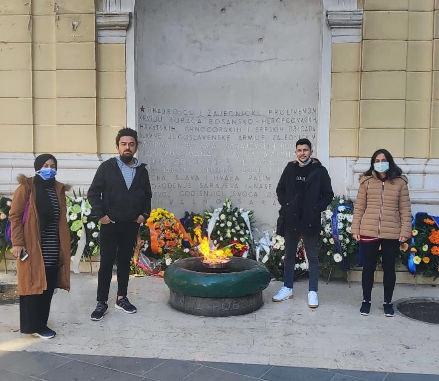 Welcome to BRAVO dear Sena, Burhan, Betül and Çağlar, welcome to Bosnia and Herzegovina.