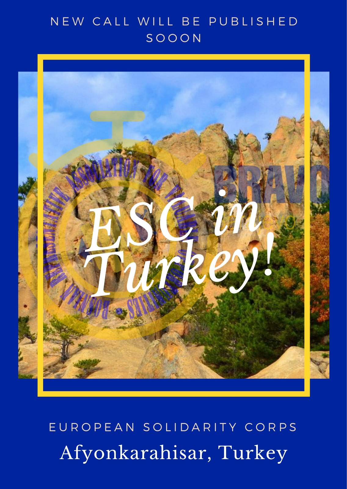 Open Call for 2 volunteers for ESC Project in Afyonkarahisar, Turkey